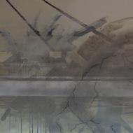 küstenfund III, Mischtechnik auf Lwd, 120x100